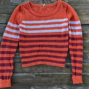 Free People Complete Me striped sweater